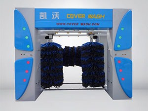 5-brush rollover car wash machine